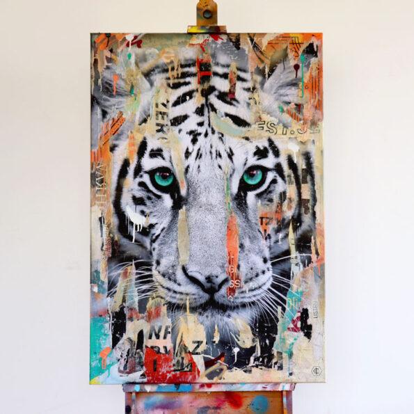 Tiger streetart