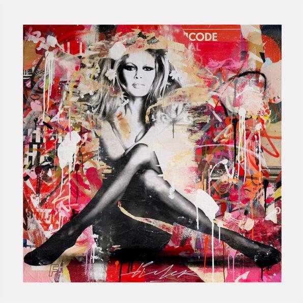 brigitte bardot graffiti