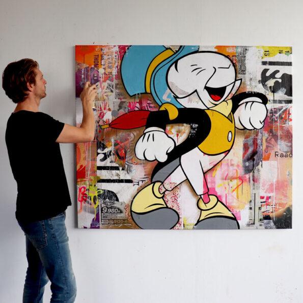 pinocchio streetart