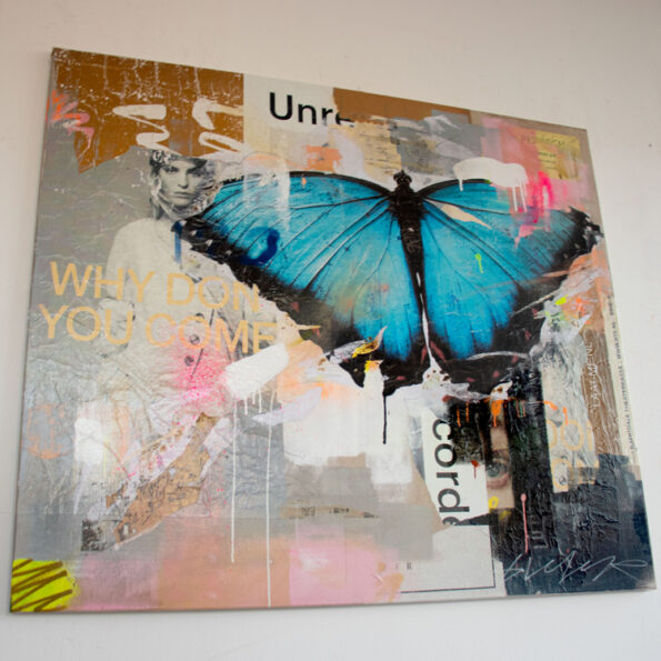 Butterfly popart