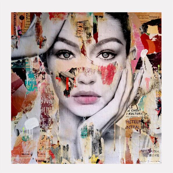 Gigi hadid artwork