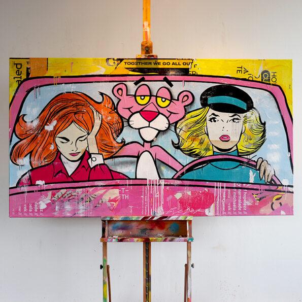 Pink Panther art