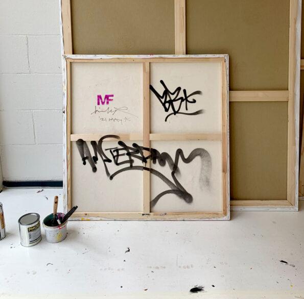 Back canvas