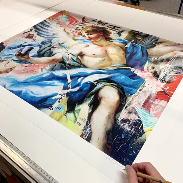 Signing limited print